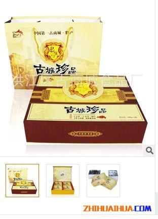湖南特产聚食坊中国 古商城节日礼品装古城珍品
