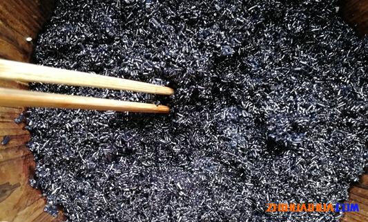 通道黑米饭
