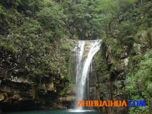 中方黄溪瀑布