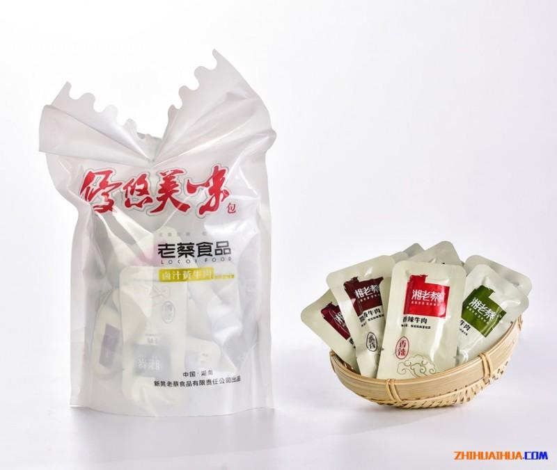 湘老蔡 散装牛肉 混合装500g 牛肉脆骨牛筋 休闲零食