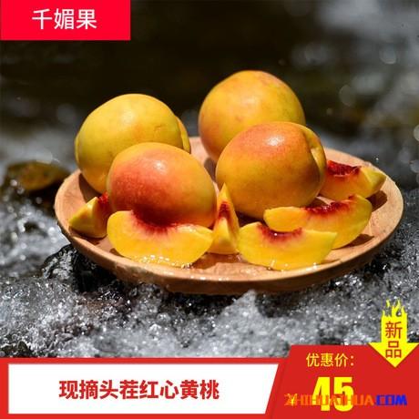 怀化麻阳黄桃新鲜锦绣黄桃