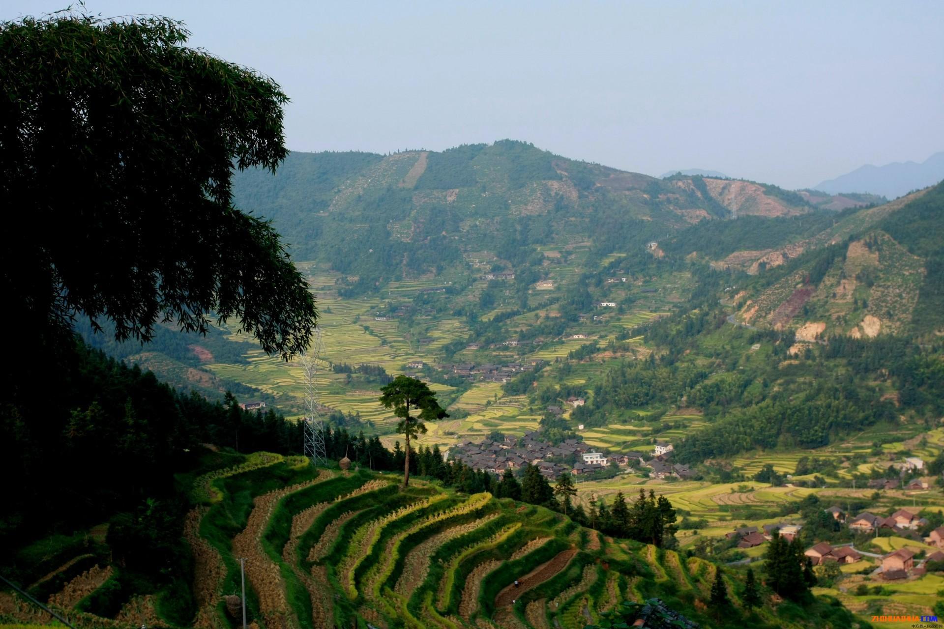中方江泙美景