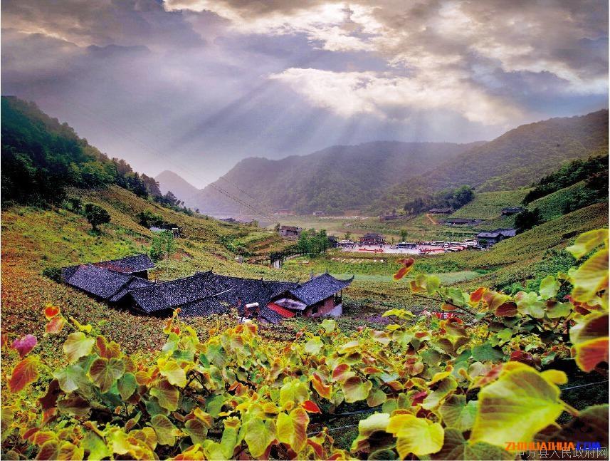 中方黄溪美景