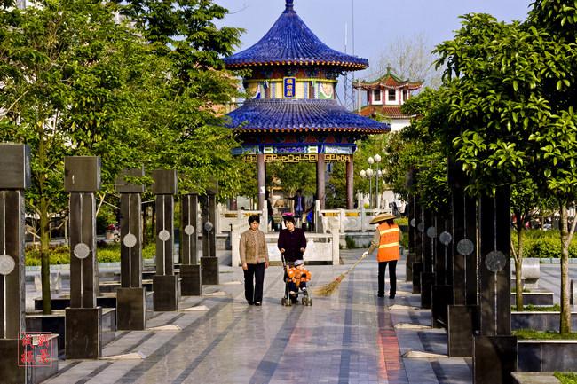 溆浦县城美景