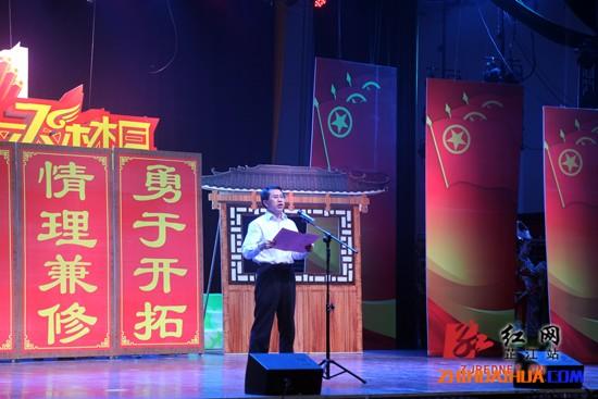 """芷江举行喜迎县庆三十周年暨舞动青春放飞梦想庆""""五四""""文艺晚会"""